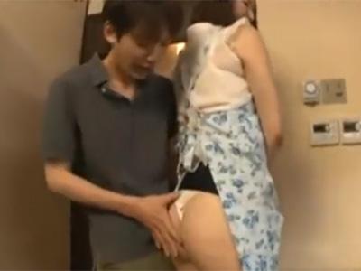 近親相姦_四十路母親_フェラチオ_セックス_adaruto動画02