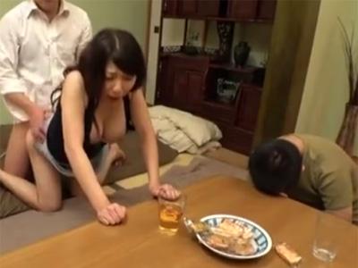 五十路_美魔女_寝取られ_フェラチオ_着衣セックス_中出し_adaruto動画07