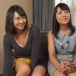 【母娘ナンパdaruto熟女動画】自分だけ気持ちよくなるのは忍びない!娘と一緒に他人チンポを突っ込まれて親子丼SEX!